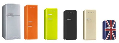 achat frigo noir r frig rateur design frigo smeg. Black Bedroom Furniture Sets. Home Design Ideas