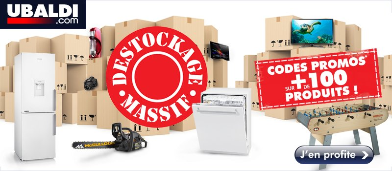 Destockage Massif !