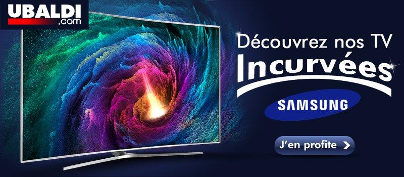 D�couvrez nos TV incurv�es Samsung !