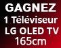 Jeux concours Facebook - Gagnez 1 TV LG OLED 165 cm