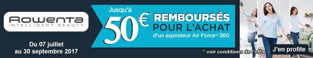 ODR - Offre de Remboursement ROWENTA