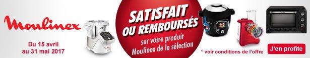 ODR - Offre de Remboursement MOULINEX