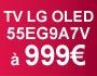 TV LG OLED 55EG9A7V à 999€ !