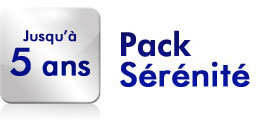 Pack sérénité jusqu'à 5 ans supplémentaires