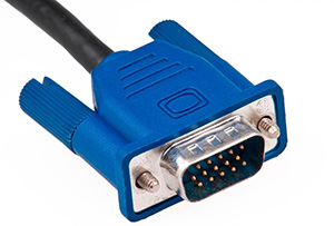 Câble VGA pour brancher ordinateur sur TV