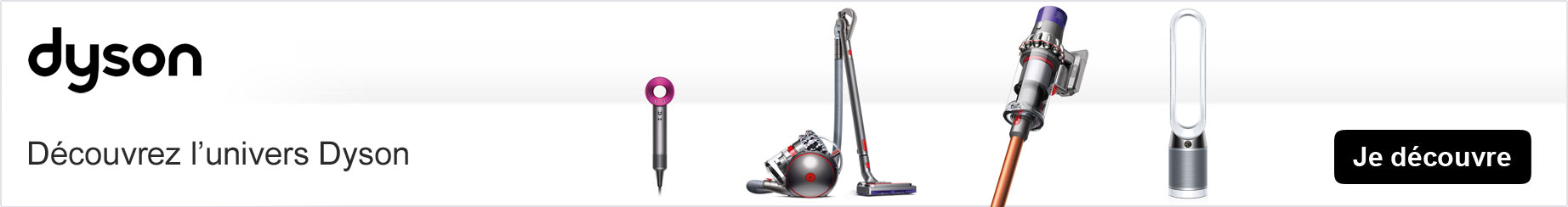 dyson gamme aspirateur dyson et ventilateurs prix discount. Black Bedroom Furniture Sets. Home Design Ideas