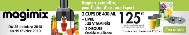 magimix 18082f juice expert 3 chrome pas cher. Black Bedroom Furniture Sets. Home Design Ideas
