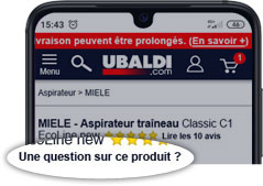 Question produit
